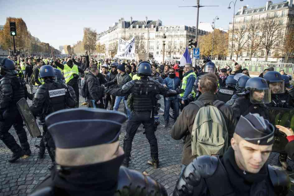 Epilog nereda u Parizu: Povređeno 135, uhapšeno oko 1.000 ljudi