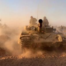 Veliki juriš na Al-Safu: Sirijska armija tuče opkoljene teroriste u Svejdi, Islamska država na kolenima (FOTO)