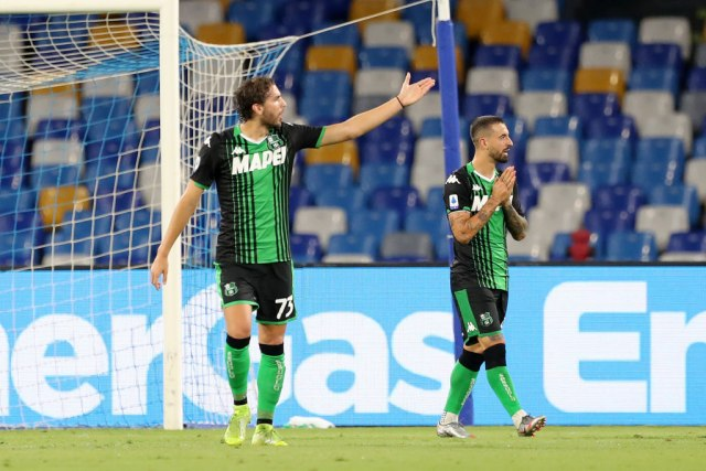 Veliki maler – Sasuolu poništena četiri gola u porazu od Napolija
