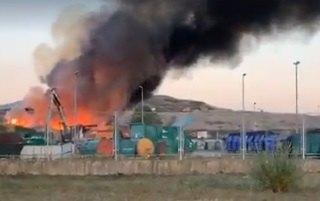 Veliki požar u Zagrebu, dim se vidi iz celog grada