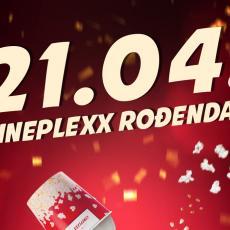 Veliko rođendansko slavlje bioskopa Cineplexx 21. aprila