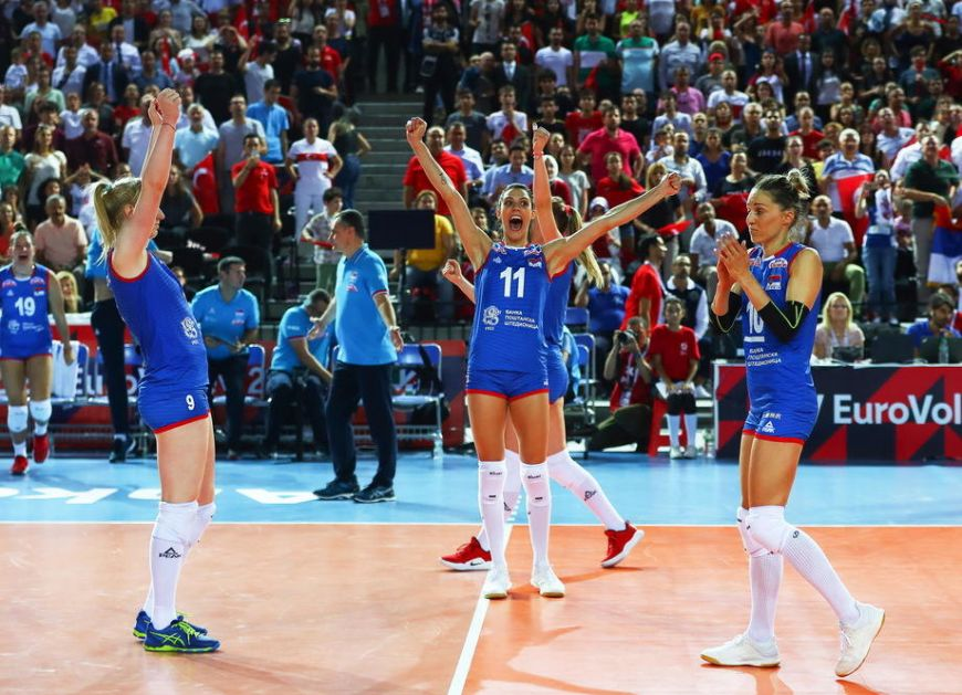 Odbojkašice Srbije u četvrtfinalu EP