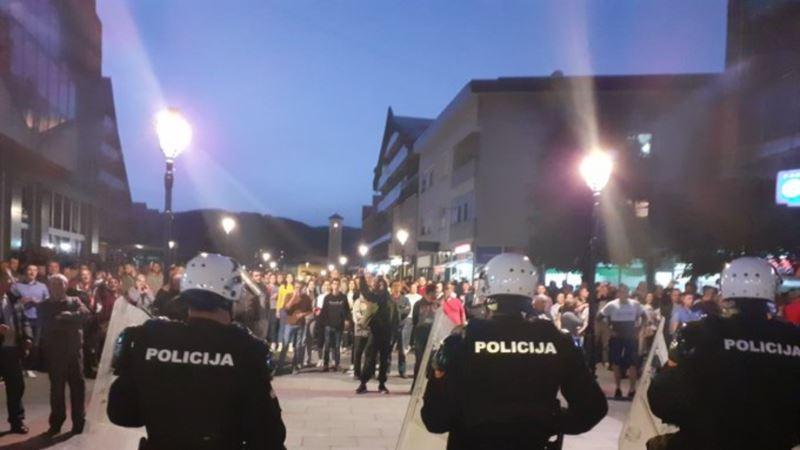 Veljović: Policija neće dozvoliti javna okupljanja kojima se krše mjere NKT