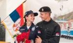 Veridba u MUP-u: Specijalac zaprosio koleginicu pred državnim vrhom (FOTO)