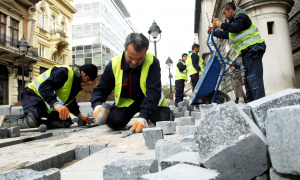 Vesić: Radovi u centru Beograda do kraja januara (FOTO)