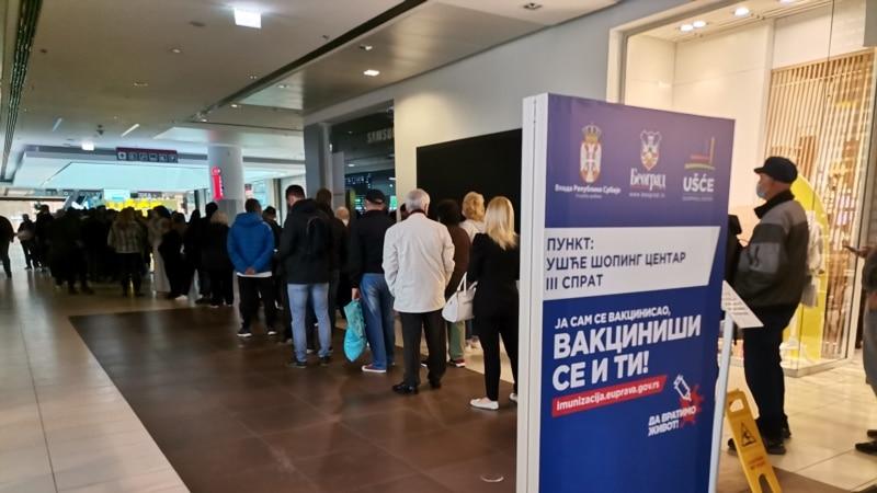 Vesić: Svaki dan pokloni za vakcinisane u tržnom centru u Beogradu