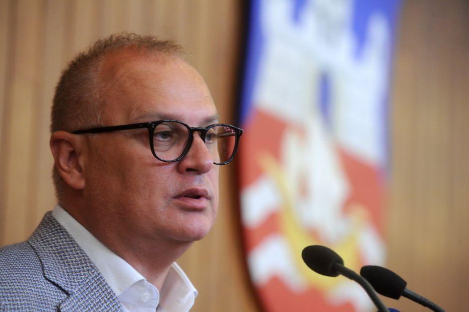 Vesić: U Beogradu će morati da se primene drastičnije mere ako se situacija pogorša
