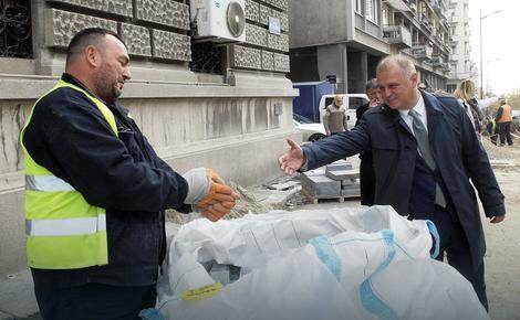 Vesić: U Skadarliji će preko asfalta biti vraćena stara turska kaldrma