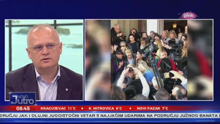 Vesić za Pink: Svuda u Evropi je fašizam zabranjen, samo je kod nas lider opozicije fašista Boško Obradović! Jedina politika SzS je ČISTO NASILJE! (VIDEO)