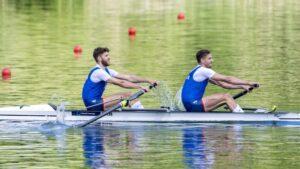 Veslači Vasić i Mačković zadovoljni plasmanom u finale OI, cilj medalja