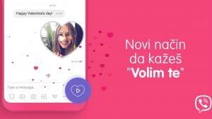 Viber predstavio posebne video poruke u obliku srca za Dan zaljubljenih