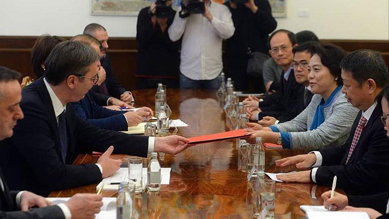 Vučić razgovarao sa predsednikom Ziđina, Srbija najbolja zemlja u kojoj je ova kompanija investirala