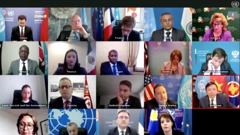 Virtuelna sednica SB o Kosovu: Spremna podrška nastavku dijaloga