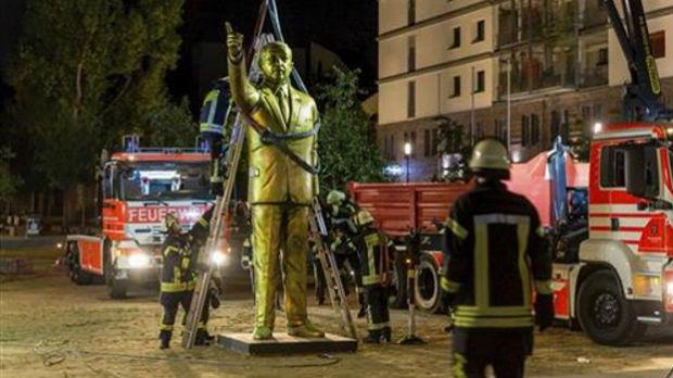 Visbaden uklonio Erdoganovu statuu zbog bezbednosti