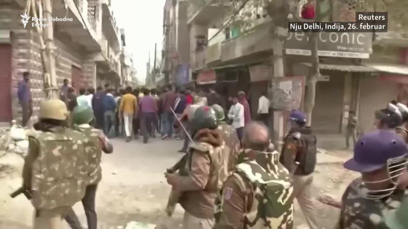 Više od 20 mrtvih nakon nemira u Nju Delhiju u Indiji