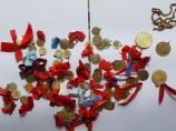 Više od 200 grama zlatnih novčića zaplenjeno na Strezimirovcima