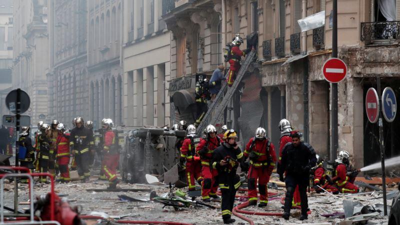 Troje poginulih u eksploziji gasa u pekari u Parizu