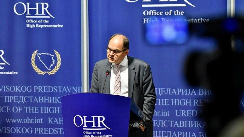 Visoki predstavnik u BiH Christian Schmidt: Okrenimo se budućnosti