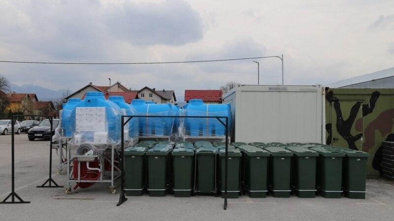 Vlada SAD-a donirala Graničnoj policiji BiH opremu za suzbijanje COVID-a 19