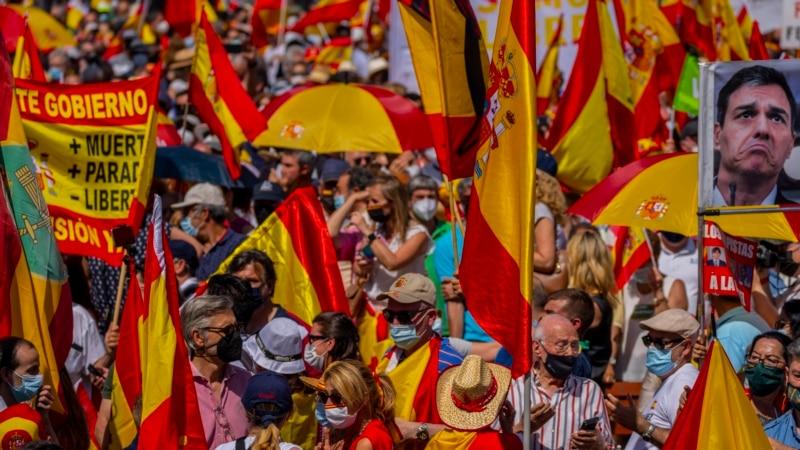 Vlada Španije pomilovala devet katalonskih lidera