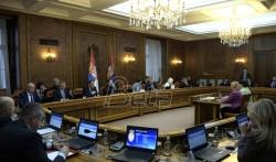 Vlada Srbije o otklanjanju posledice poplava, granicama, gradjevinarstvu, biogorivu, radnim mestima