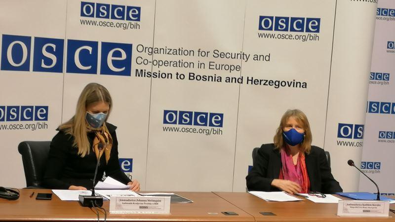 Vladavina prava, pomirenje i sloboda medija prioriteti švedskog predsjedavanja OSCE za BiH