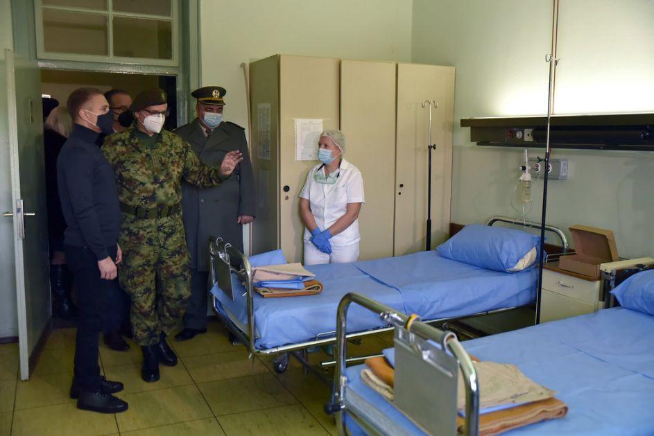 Vojna bolnica Niš od danas sa 50 ležajeva u kovid sistemu