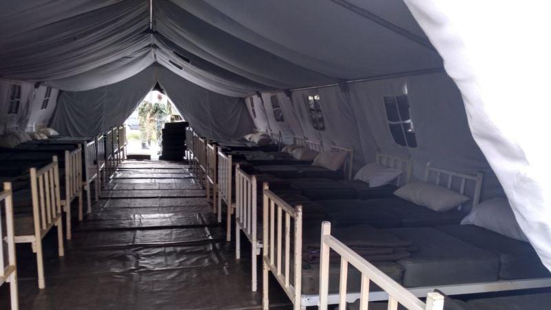 Vojna bolnica za COVID-19 pacijente u Novom Pazaru