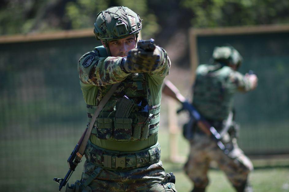 Vojna policija se sprema za Međunarodne vojne igre