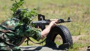 """Vojne vežbe na """"Peskovima"""""""