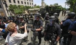 Vojnici se povlače iz Vašingtona u svoje baze