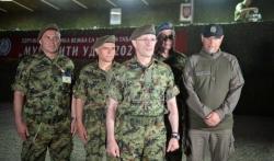 Vojska Srbije izvela najveću vežbu u noćnim uslovima (FOTO)