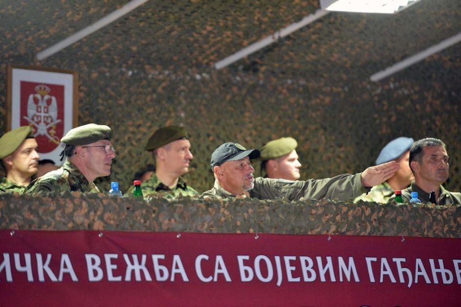 Vojska Srbije izvela najveću vežbu u noćnim uslovima