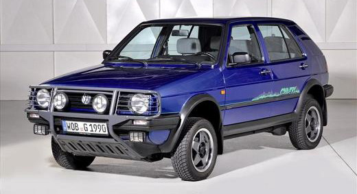 Volkswagen Golf II Country sve više na ceni