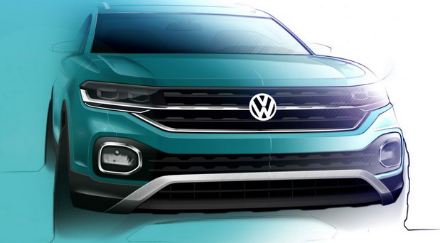 Volkswagen T-Cross: novi frabrički crteži i novi teaser video