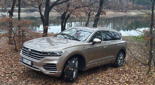 Volkswagen Touareg na probi Novosti