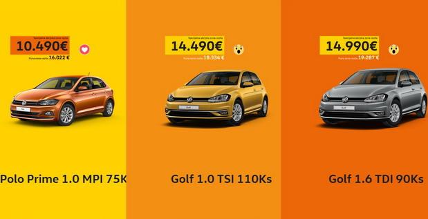 Volkswagen akcijska ponuda Polo ili Golf