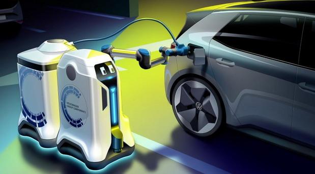 Volkswagen revolucija: Umesto da vi tražite mesto punjenja vašeg električnog ljubimca, punjač traži vaš automobil