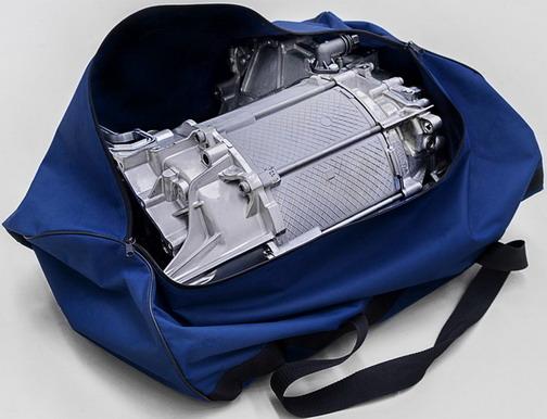 Volkswagenov elektromotor može da stane u standardnu sportsku torbu