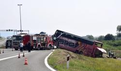 Vozač kosovskog autobusa koji se prevrnuo u Hrvatskoj bio umoran