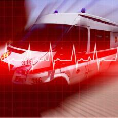Vozač teško povređen u saobraćajki na Zrenjaninskom putu: Prebačen na reanimaciju u Urgentni centar