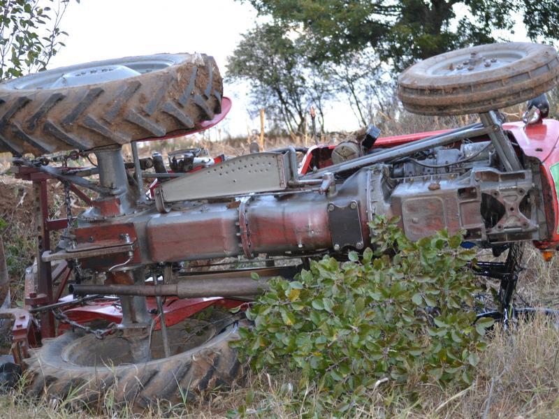 Vozač traktora teže povređen u udesu kod Preševa