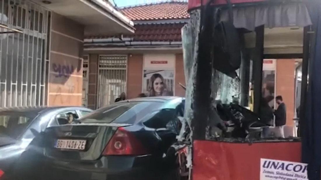Vozaču GSP određen pritvor zbog nesreće Zemunu