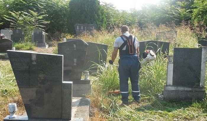 Vrbas: Uređuje se Gradsko groblje