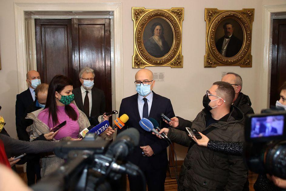 Vučević: Sajam spreman možda već večeras, u gradu svaki dan od 400 do 500 novozaraženih