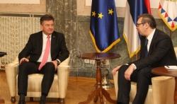 Vučić i Lajčak: Napredak u dijalogu ključan za pomak na evropskom putu(VIDEO)