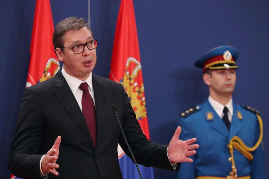 Vučić: Brutalno licemerje zapadnih sila koje nemaju principe ili imaju principe po potrebi