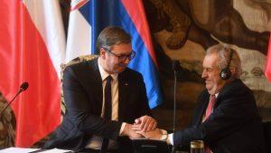 Vučić: Češke kompanije u Beograd ulažu više od milijardu evra