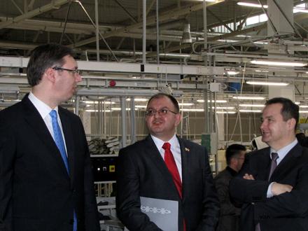 Vučić: Da Geox odlazi  znamo već dva meseca