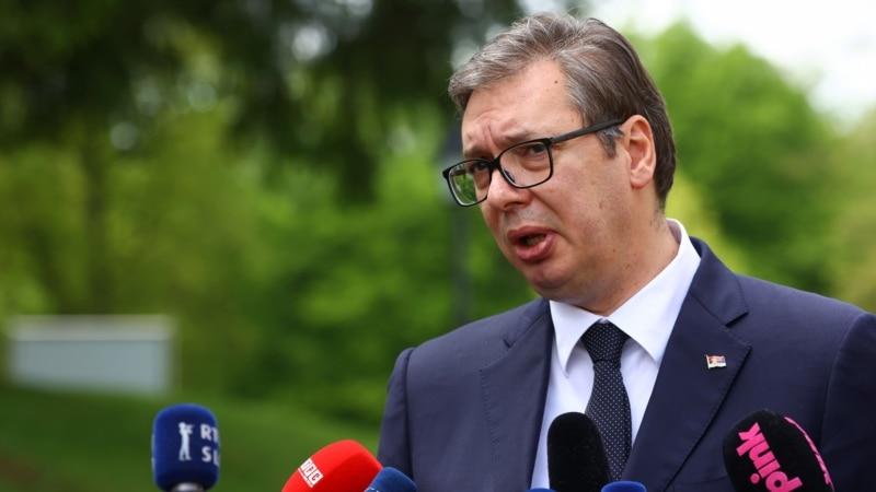Vučić: Dok sam ja predsednik u Srbiji neće biti rezolucije  o Srebrenici